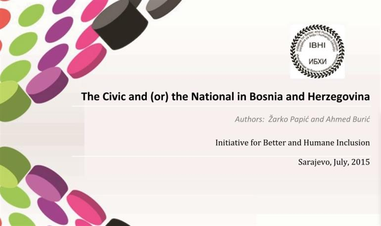 The Civic and (or) National in Bosnia and Herzegovina